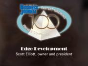 #25: Edge DevelopmentGrowth: 190.05%Local senior executive: Scott Elliott, owner and president