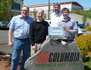 #79: Columbia Roofing & Sheet MetalGrowth: 60.97%Local senior executive: Mark Carpenter, president
