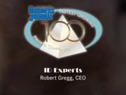 #98: ID ExpertsGrowth: 45.69%Local senior executive: Robert Gregg, CEO