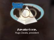 #26: Zavala CorporationGrowth: 189.43%Local senior executive: Hugo Zavala, president