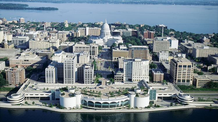 The city of Madison has a high concentration of teachers, researchers and students in high-tech roles.