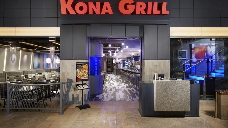 An auction for Kona Grill is set for later this summer.