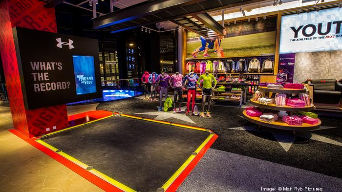 Are you buying more Under Armour products recently?