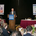 Lovell talks new arena, Twitter at Power Breakfast: Slideshow