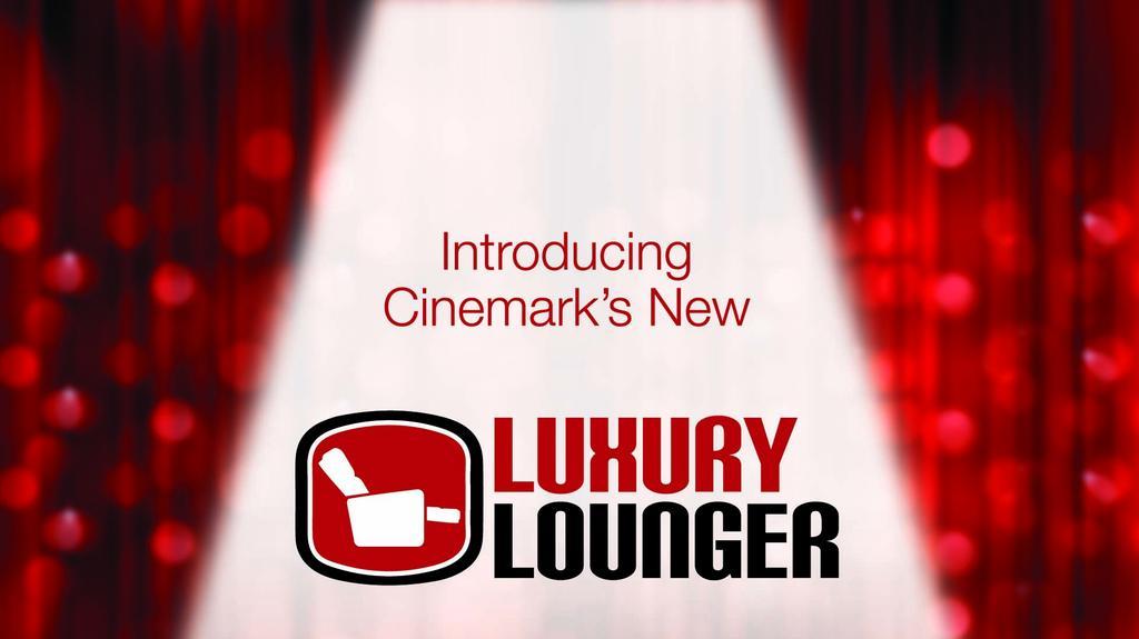 Sit Back And Enjoy Cinemark Grand Prairie Unveils Recliner Seating