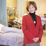 Partners in Health Care: Berryman's career spans nursing, health administration, education