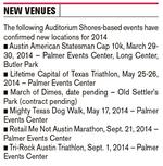 Upgrade at Auditorium Shores has events seeking new homes