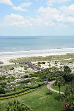 Beachfront hotels see upswing in business