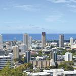 Honolulu's imported skyline