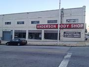 Anderson Body Shop, in the 2800 block of Remington Avenue, would be renovated and redeveloped as a retail and office complex.