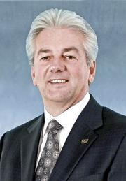 QUICK TURNOVER: CACI surprised the government contracting community in February when it replaced Dan Allen, shown here, who was appointed CEO in 2012, after less than a year with former Lockheed Martin exec Kenneth Asbury. The official reason: a new strategy emphasizing business development.