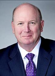 QUICK TURNOVER: CACI surprised the government contracting community in February when it replaced Dan Allen, who was appointed CEO in 2012, after less than a year with former Lockheed Martin exec Kenneth Asbury, shown here. The official reason: a new strategy emphasizing business development.