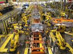 Ford F150 production line