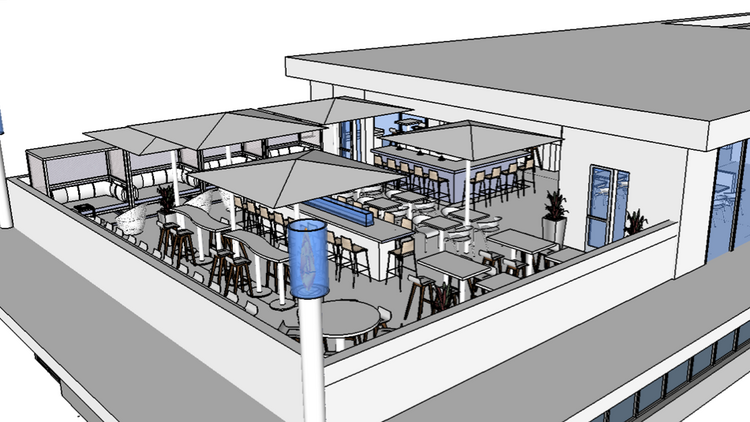 Italian restaurant and rooftop lounge planned for downtown