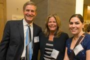 Jeff Fisher, account manager, Kaiser Permanente; Diane Sensibaugh, client engagement manager, Cigna; Meg Lucik, health promotion manager, Cigna. The Baltimore Business Journal hosted its Healthiest Employers breakfast at the Hotel at Arundel Preserve.