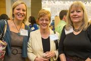 Celene Steckel, health benefits and compensation manager, Carroll County Government; Cathy Proctor, account executive, United Healthcare; Debbie Barrick, human relations associate 3, Carroll County Government. The Baltimore Business Journal hosted its Healthiest Employers breakfast at the Hotel at Arundel Preserve.