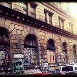 In the Bowery, a final look at a grand, graffiti'd mansion before its overhaul