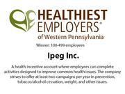 Healthiest Employers of Western Pennsylvania 2013.