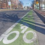 Mayor's office stands by decision to redesign controversial Canton bike lane