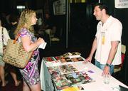 Amanda Mascellino of Nerium International and Ryan Glastein of European Wax Centers.