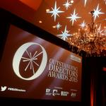 Scenes from the Outstanding Directors Awards 2015 event