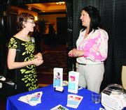 Jessica Strong, left, of Strong Trainings and Sharyn Fisher of Allegheny Health & Physical Medicine.