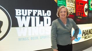 Is Sally Smith leaving Buffalo Wild Wings good for the company?