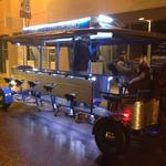 It's not how fast you get there, but the journey, on the Duke City Pedaler (Video)