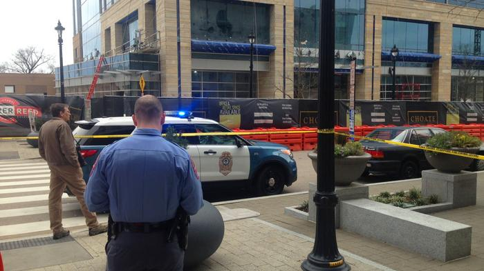 Charter Square scaffold accident survivor files suit