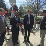Denver welcomes its largest B-cycle bicycle sharing station ever