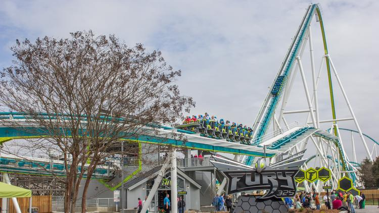 Fury 325 Roller Coaster Brings Another Accolade For