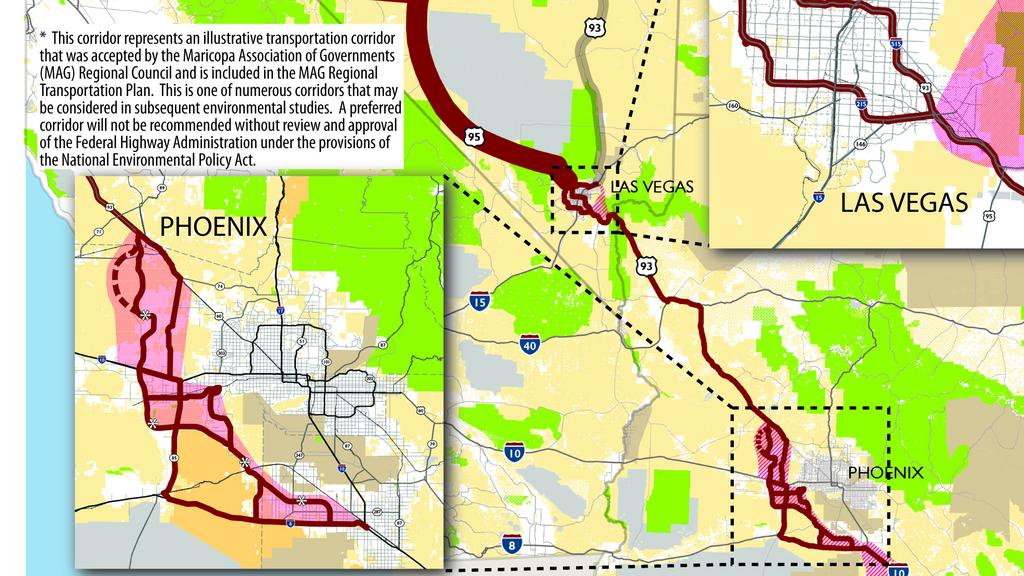 Mccain Flake Amendment Puts Border To Border Interstate 11 Into