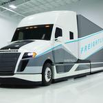 Daimler unveils high-mpg 'SuperTruck' (PHOTOS)