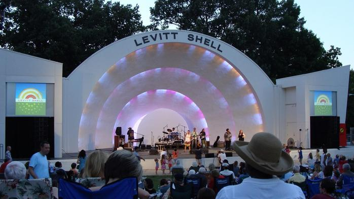 Levitt Shell seeks to use shipping containers