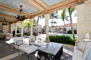Patio at 920 S. Ocean Blvd. in Palm Beach