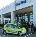 Bob <strong>King</strong> Automotive donates electric car use to UNCSA