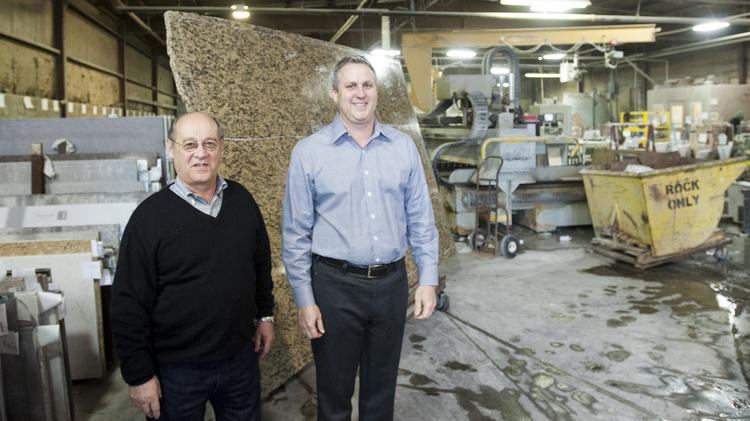 Chuck O Koon Left Recently Sold Cardinal Kitchens To Todd Rush Right