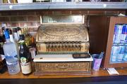 An old National Cash Register has followed the Jefferson organization from place to place. It was in the original building when it opened.