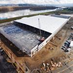 Portland region's largest industrial building plows ahead of schedule