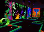 See inside: Glowgolf mini golf lights up in Wichita again