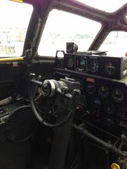 Another look at the pilot's station.