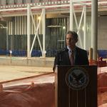 VA deputy secretary makes 10th visit to site of troubled Aurora hospital project
