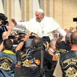 Vatican auctions the <strong>Pope</strong>'s second Harley-Davidson