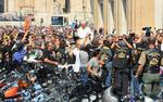 <strong>Pope</strong> <strong>Francis</strong> blesses Harleys and their riders