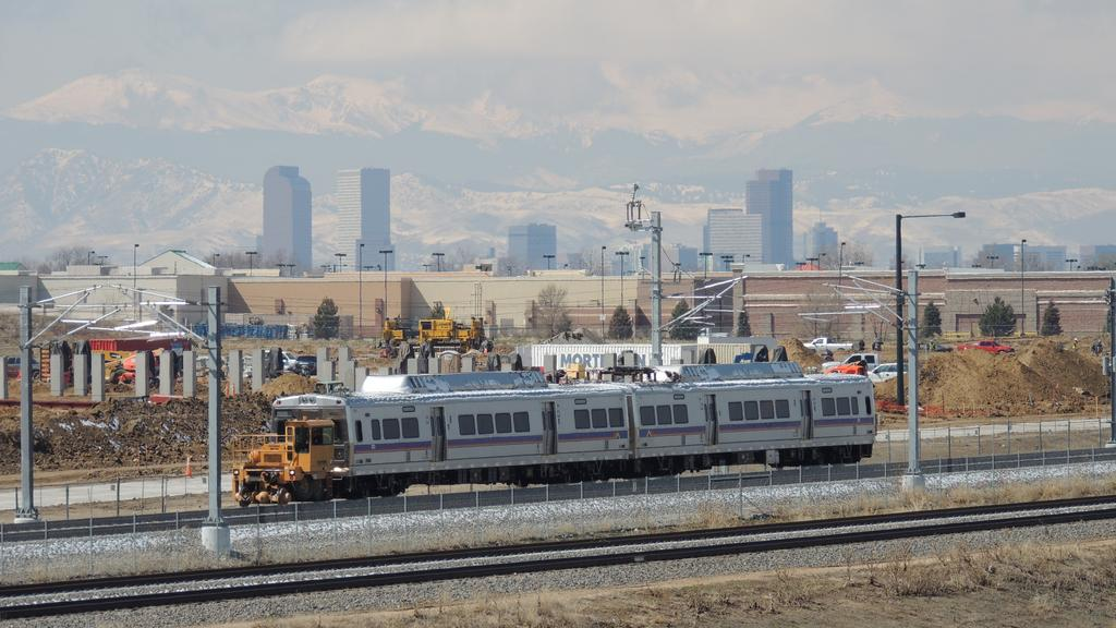 Sneak peek at your ride on RTD rail to Denver's airport