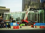 Renovations reach the halfway point at the Government Center T stop (BBJ photo gallery)