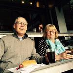 Opening Day in the owners' box: Gov. Inslee, Mayor Murray joined business leaders celebrating the M's big win