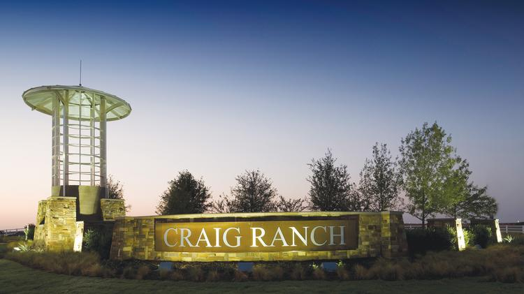Craig Ranch is a master-planned community with an 18-hole golf course, high-end residences and a business center.