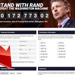 Presidential candidate Rand Paul is the highest profile bitcoin believer on a ballot