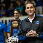 Coach K's off-the-court project? A startup